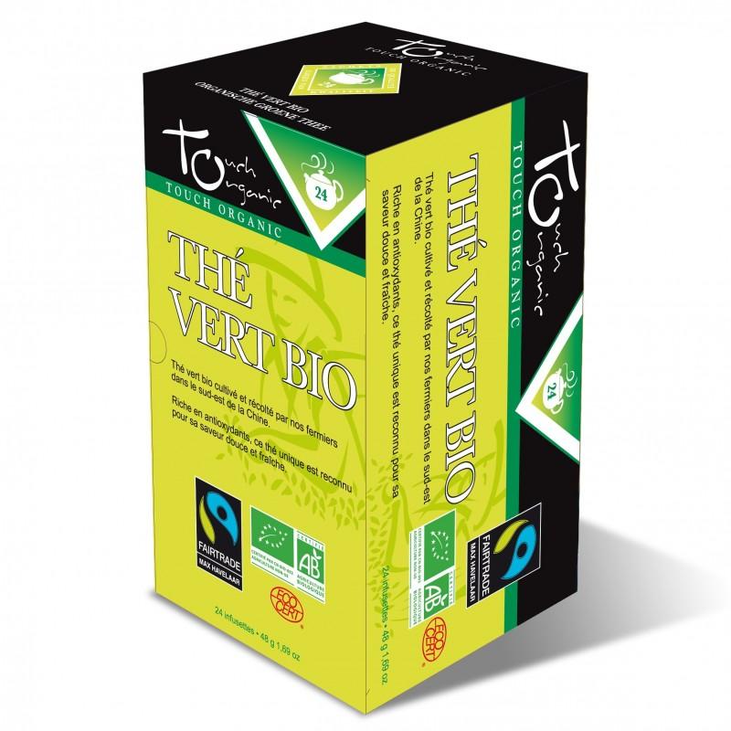 Thé vert sachets 48 grs ( 6 x 24 sachets)