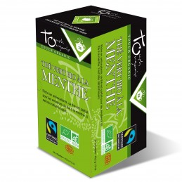 Thé vert à la menthe BIO 48 grs 6X24 sachets