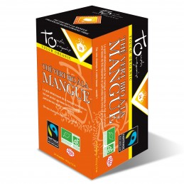 Thé vert à la mangue BIO 43,2 grs 6X24 sachets
