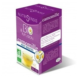 Infusions Camomille BIO - Nuits douces (20x1g)