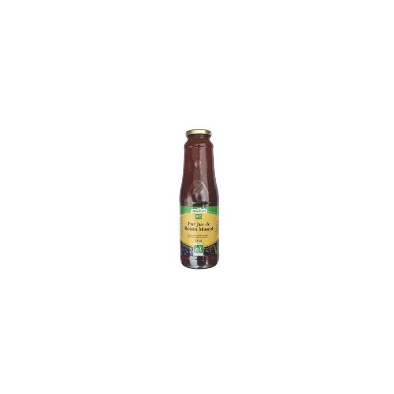 Pur jus de raisins muscat Bio (6x75cl)