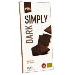 Tablette Simply Dark (Noir 61%) 17x80 grs