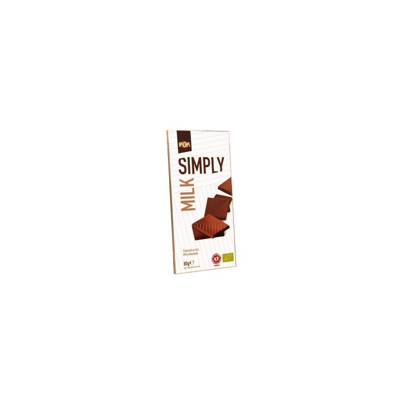 Tablettes Simply Milk (Lait 32%) 17x80 grs