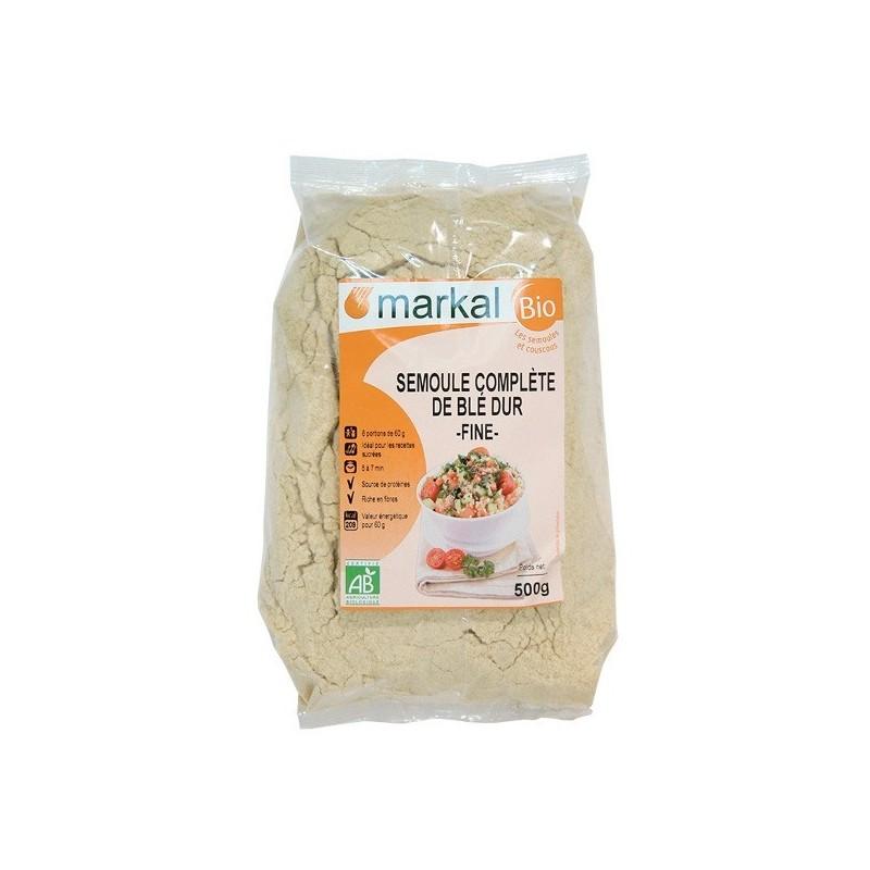 Semoule complète blé dur fine 6X500g