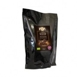 PALETS CHOCOLAT NOIRS BIO 55%  6 5KG