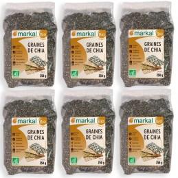 Graines de chia (6x250 grs)